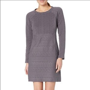 prAna | Gray Macee Textured Dress